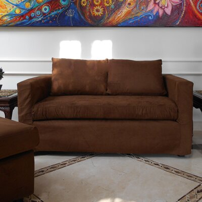 Luella Reversible Chiase Sectional Upholstery: Brown