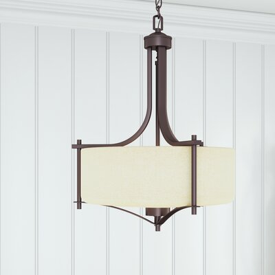 Foxall Drum Pendant Finish: English Bronze