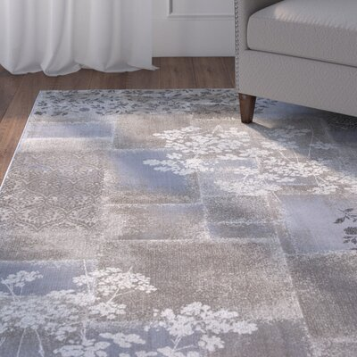 Bill Champagne Mirage Area Rug Rug Size: 53 x 77