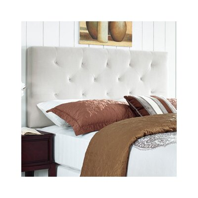 Brennan Upholstered Panel Headboard Size: Full/Queen, Upholstery: Oyster