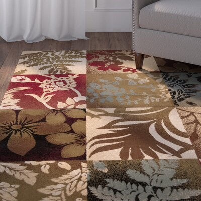 Acres Camel/Multi Rug Rug Size: Runner 3 x 8