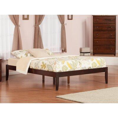Mackenzie Platform Bed Size: Queen, Finish: Antique Walnut