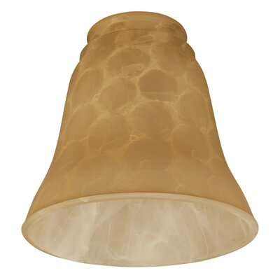 "Tinted 4.75"" Glass Bell Ceiling Fan Fitter Shade ANDO7940 38156574"