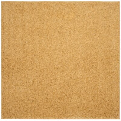Curran Gold Area Rug Rug Size: Square 67