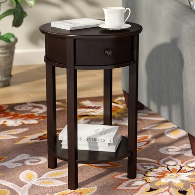 Baltimore Storage End Table Color: Warm Espresso
