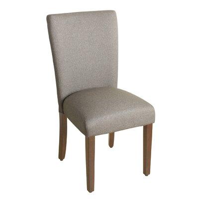 Rebersburg Parsons Chair Upholstery: Lance Cobblestone
