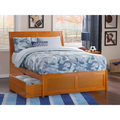 Winstead Traditional Storage Platform Bed Size: Queen, Color: Caramel Latte