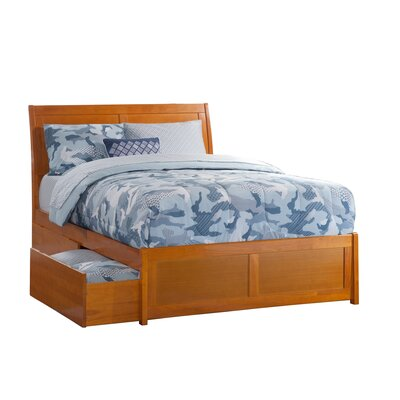 Winstead Traditional Storage Platform Bed Size: King, Finish: Caramel Latte