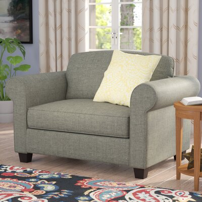 Serta Upholstery Blackmon Convertible Chair and a Half Fabric: Burbank Dusk / Dana Point One
