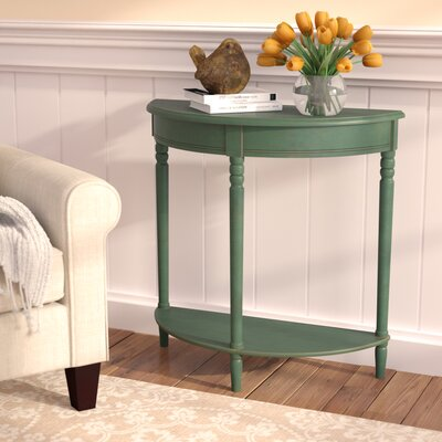 Hadenson Wood Console Table Finish: Antique Teal