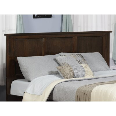 Marjorie Panel Headboard Color: Caramel Latte, Size: King