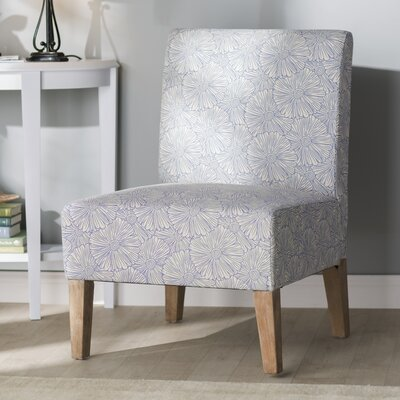 Rosario Slipper Chair Upholstery: Blue Floral