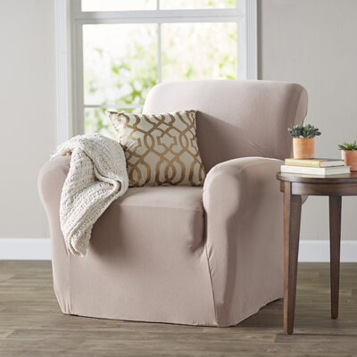 Chair Slipcover Color: Linen
