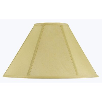 Lisa 17 Fabric Empire Lamp Shade Finish: Champagne