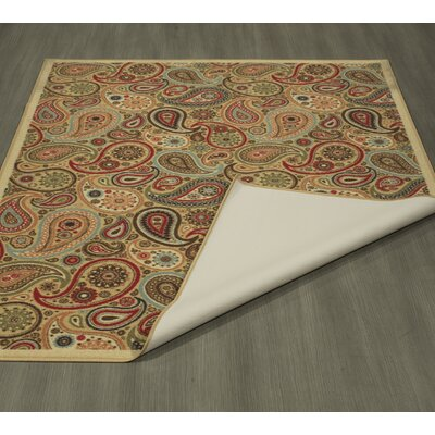 Galesburg Beige Area Rug Rug Size: Rectangle 82 x 910