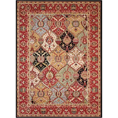 Standish Brown Area Rug Rug Size: 53 x 73