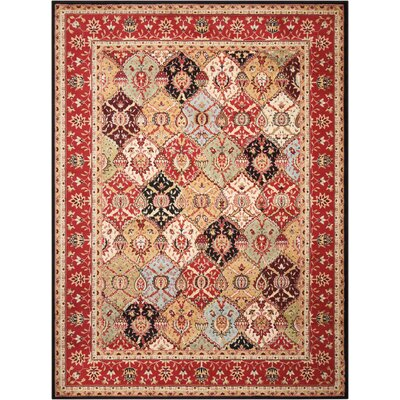 Standish Brown Area Rug Rug Size: 710 x 106