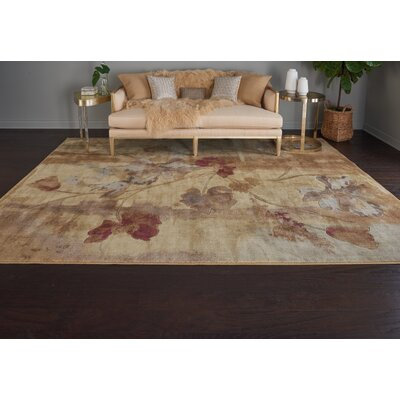 Smithtown Beige Area Rug Rug Size: Rectangle 79 x 1010