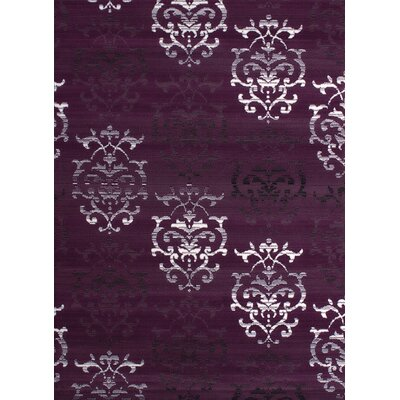 Fitchett Lilac/Plum Area Rug Rug Size: 710 x 106