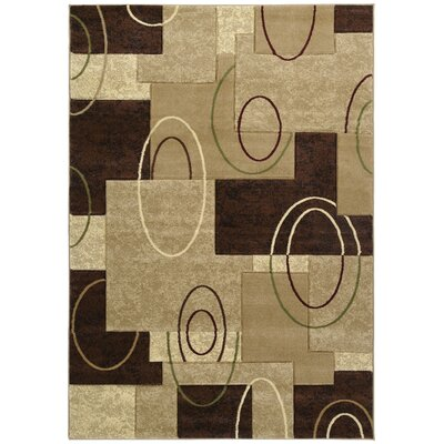 Ganley Cha Cha Beige Rug Rug Size: Rectangle 53 x 76