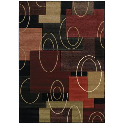 Ganley Multi-Colored Rug Rug Size: Rectangle 710 x 106