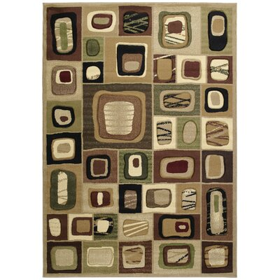 Ganley Marrakesh Toffee Rug Rug Size: Rectangle 53 x 76