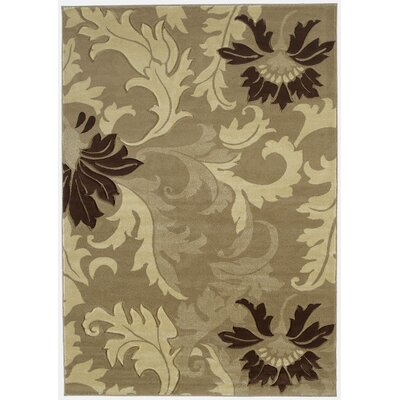 Ganley Orleans Beige Rug Rug Size: Rectangle 53 x 76