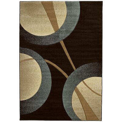 Ganley Zaga Smoke Blue Rug Rug Size: Rectangle 110 x 3