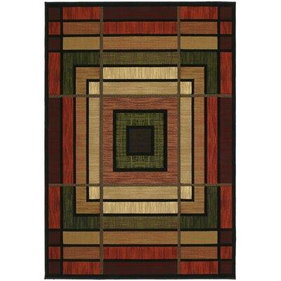 Ganley Terracotta Ambience Rug Rug Size: Runner 27 x 76
