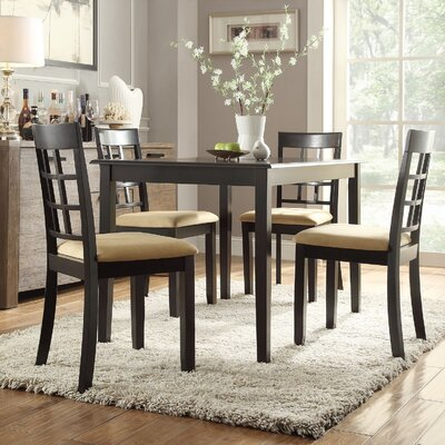 Oneill 5 Piece Windown Back Dining Set
