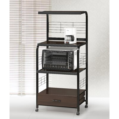 Watkins Bakers Rack Finish: Black
