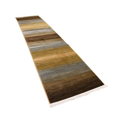 Simsbury Brown Area Rug Rug Size: Rectangle 33 x 53