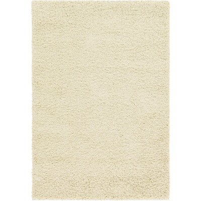 Lilah Snow White Area Rug Rug Size: Rectangle 4 x 6