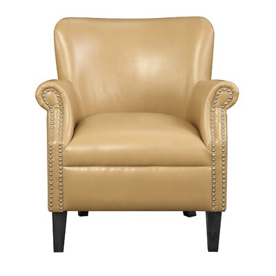 Keeter Armchair Upholstery: Saddle