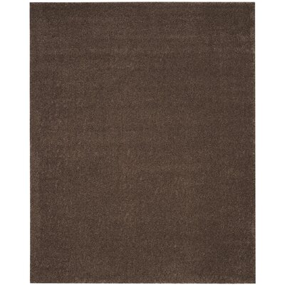 Curran Brown Area Rug Rug Size: Rectangle 4 x 6