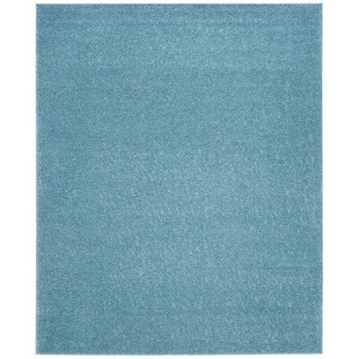 Curran Aqua Area Rug Rug Size: Rectangle 9 x 12