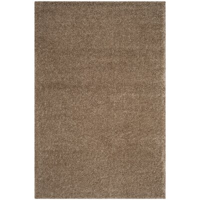 Curran Taupe Area Rug Rug Size: Rectangle 51 x 76