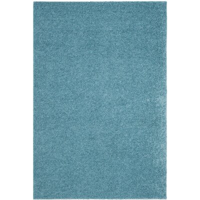 Curran Aqua Area Rug Rug Size: Rectangle 4' x 6'