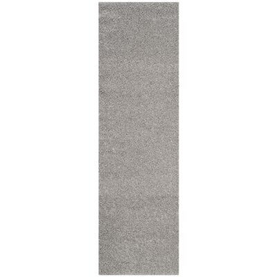 Curran Light Gray Area Rug Rug Size: Runner 23 x 8