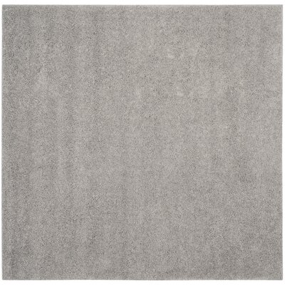 Curran Light Gray Area Rug Rug Size: Square 67