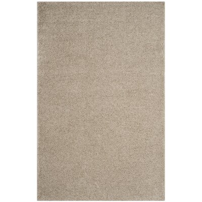 Curran Light Beige Area Rug Rug Size: Rectangle 4 x 6