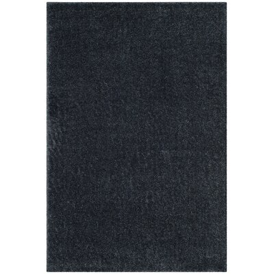 Curran Blue Area Rug Rug Size: Round 6'7