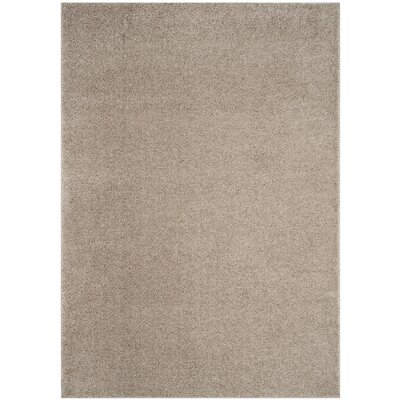 Curran Light Beige Area Rug Rug Size: Square 67