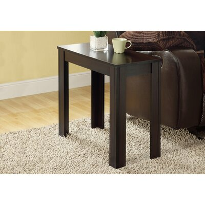 Killdeer End Table Color: Cappuccino