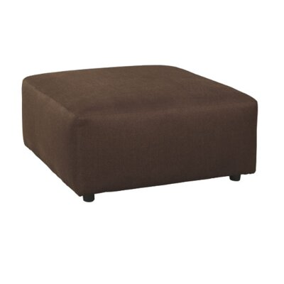 Sellersville Cocktail Ottoman Upholstery: Java