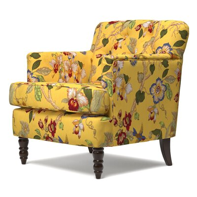 Quinton Armchair Upholstery: Yellow