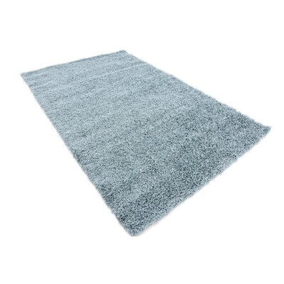 Lilah Light Blue Area Rug Rug Size: Rectangle 9 x 12