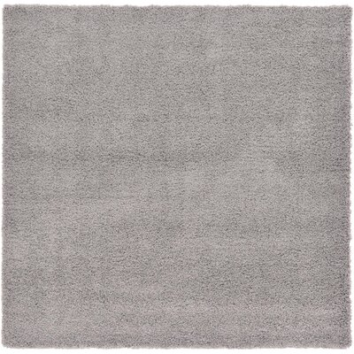 Lilah Gray Area Rug Rug Size: Square 82