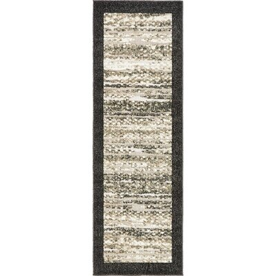 Konrad Beige Indoor/Outdoor Area Rug Rug Size: Runner 2 x 6