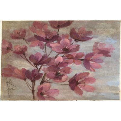 Perrin Pink Area Rug Rug Size: 2 x 3